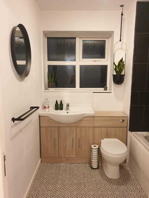 Image 30 - New vanity basin and WC unit fitted in the south Bermondsey area.