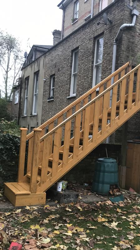 Image 3 - New garden stairs on site replacement