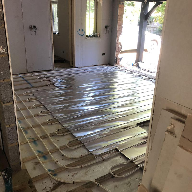 Image 30 - Underfloor heating installations on Hertfordshire