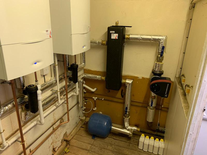 Image 7 - New Cascade heating system for one of our commercial clients