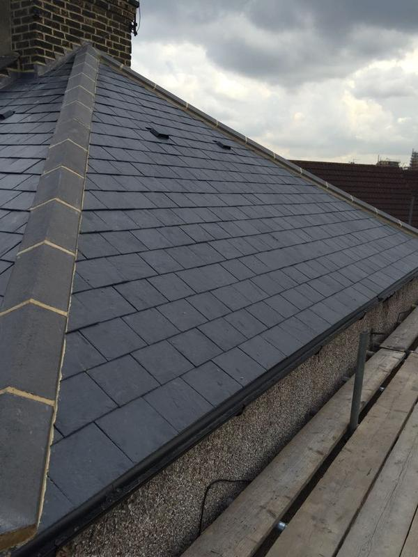 Image 20 - Re-Roof Natural Spanish Slates - Canning Town, East London