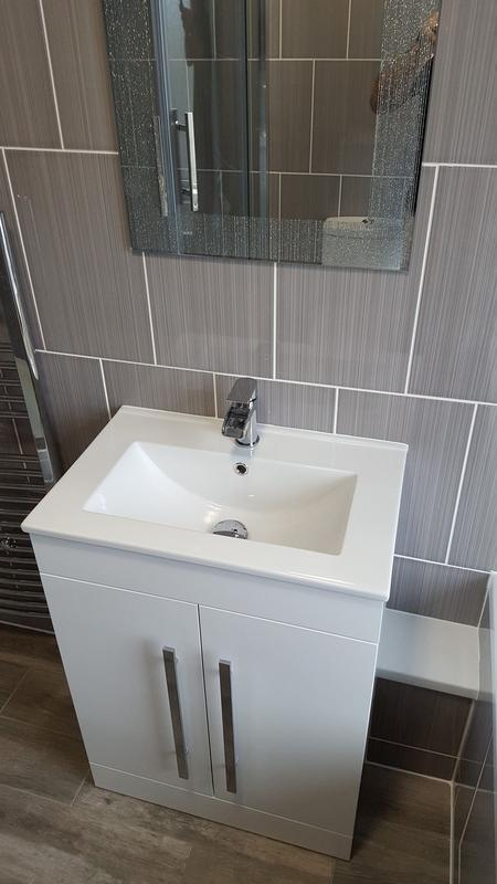 Image 23 - Complete bathroom refit - see our facebook page for before pictures!