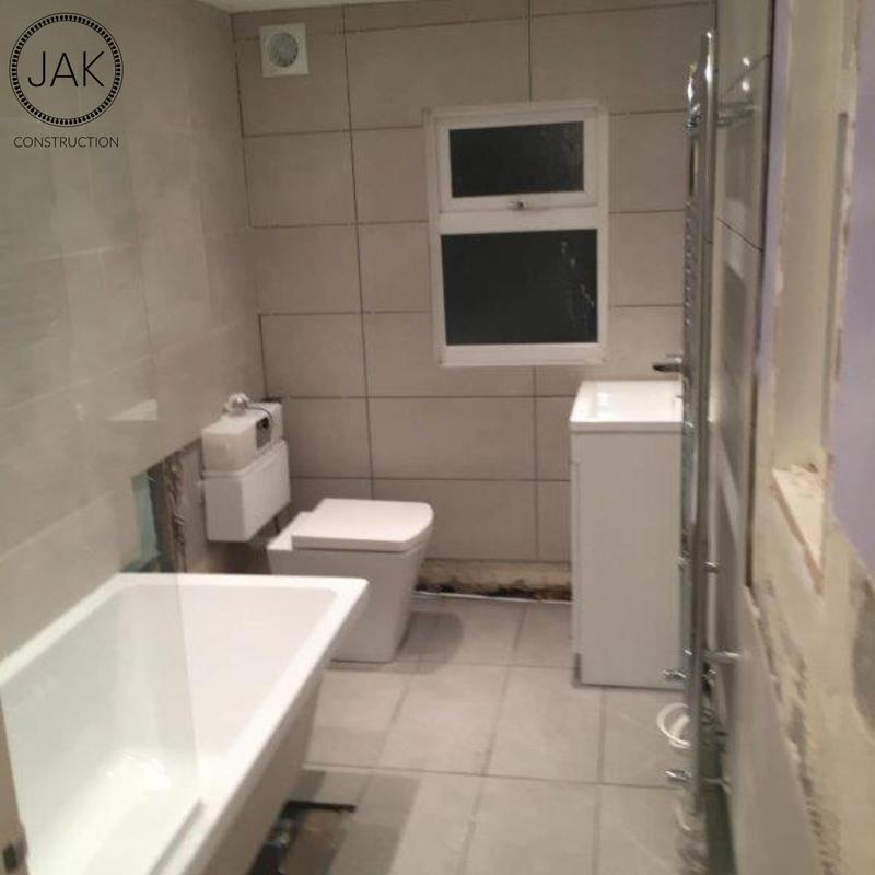 Image 49 - During bathroom renovation