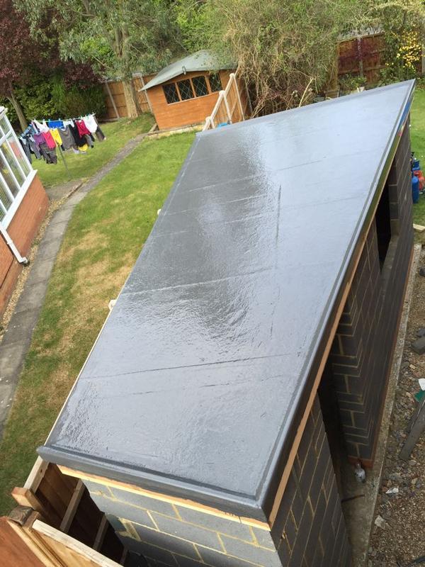 Image 37 - Small GRP Shed Roof - Stevenage, Hertfordshire