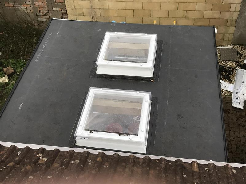 Image 9 - New epdm rubber with 2 sky lights