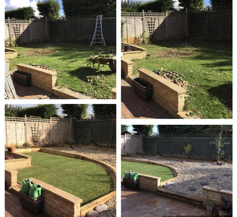 Image 14 - 32- Complete garden refurb- before and after