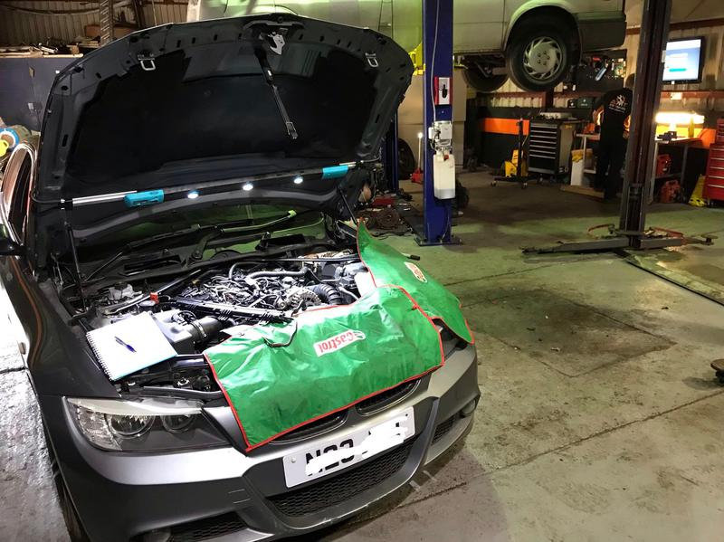 Image 15 - BMW 320d In for Major Diagnostics