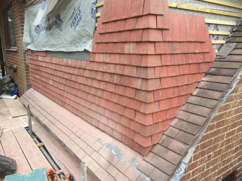 Image 11 - Roofers part finished dormer.