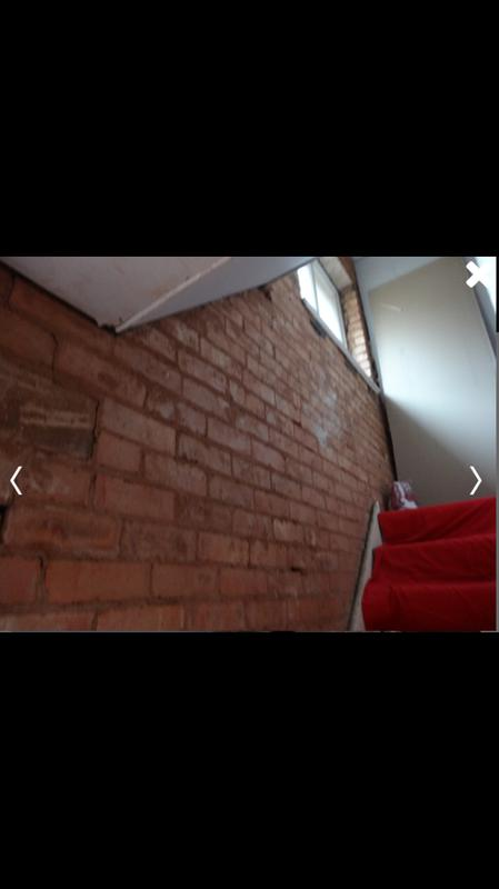 Image 81 - Hall, stairs and landing stripped back to brick reboarded and skimmed