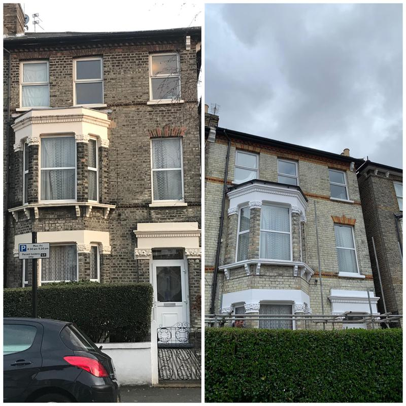 Image 4 - Full brick clean and masonry repairs/painting. Clapham