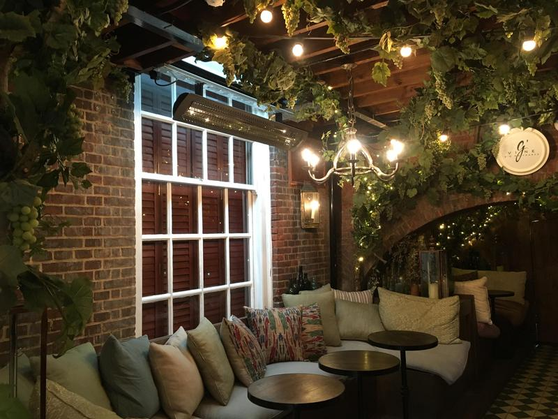 Image 1 - Outdoor lighting in the restaurant central London