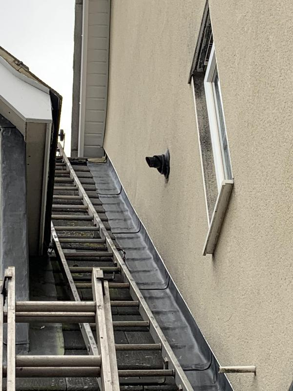 Image 4 - The right ladders for the job make even the trickiest flues possible.