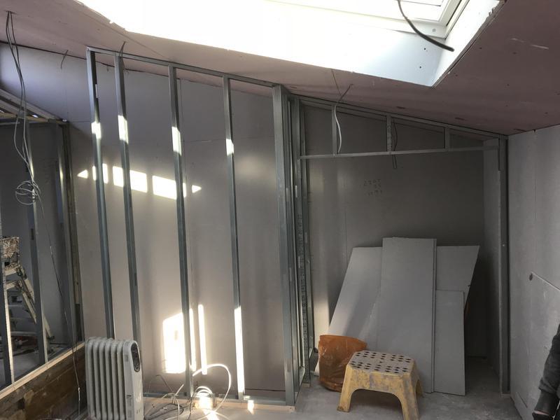 Image 35 - Metal stud walls