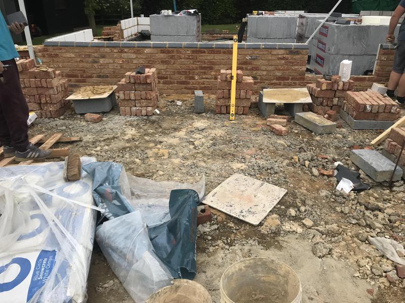 Image 5 - Brickwork to plinth On bungalow