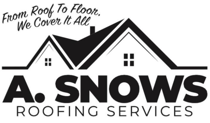 A Snows Roofing Services logo