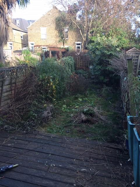 Image 5 - Sad and tired small backgarden Earlsfield preparing to clear