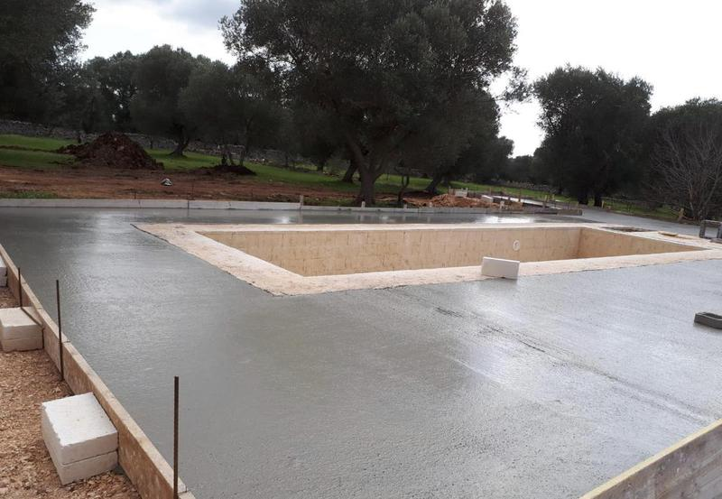 Image 2 - Pool and patio In progress