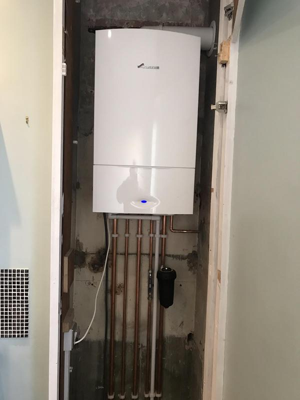 Image 25 - AFTER. supply and fit new Worcester Combi boiler. Welling job
