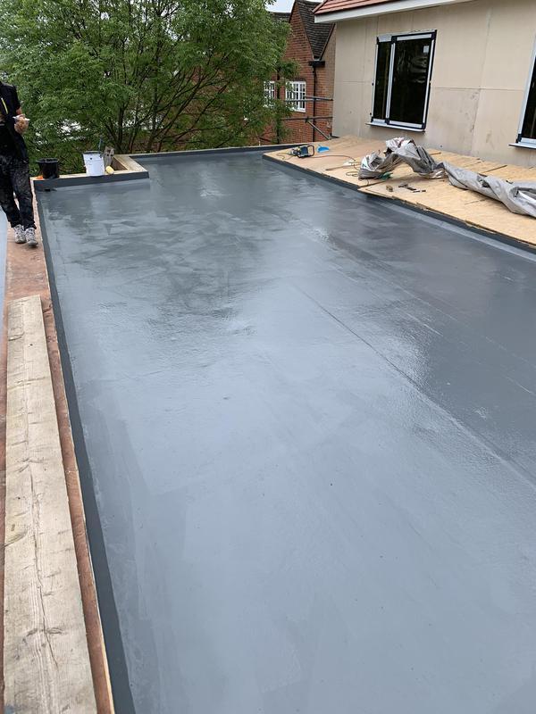 Image 20 - New fibreglass roof