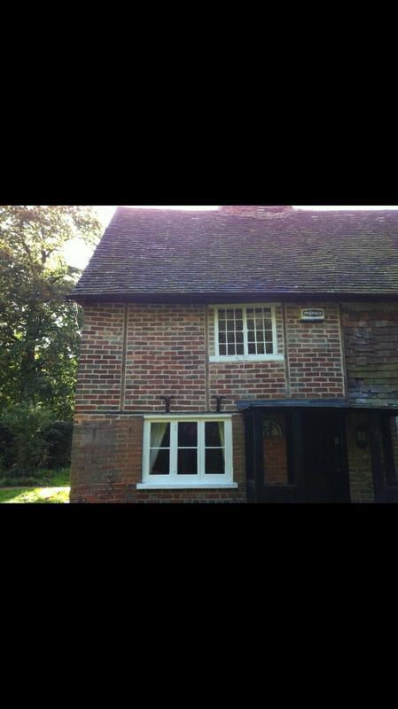 Image 22 - Old bricks removed, repaired and replaced in a old house in Wrotham