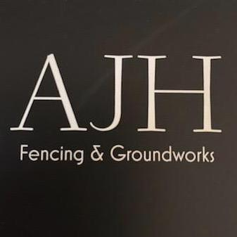 AJH Fencing and Groundworks logo