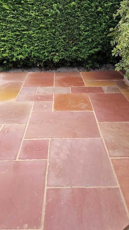 Image 134 - Indian slabs stone patio Mapperley Top Nottingham