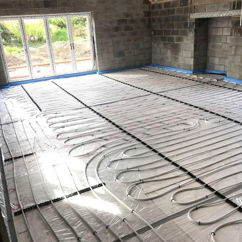 Image 4 - Air Source Underfloor Heating Installation