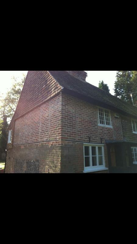 Image 23 - Old bricks removed, repaired and replaced in a old house in Wrotham