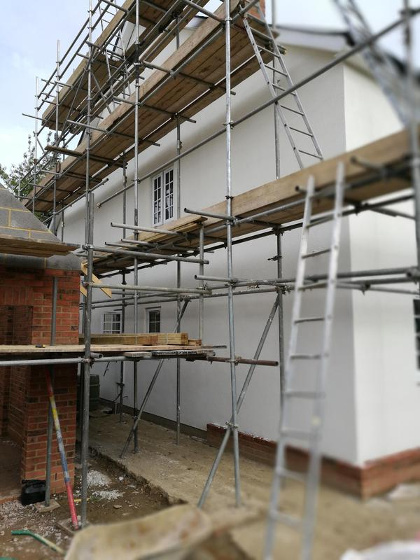 Image 3 - After renovation rendered with Johnstone's Stormshield silicone