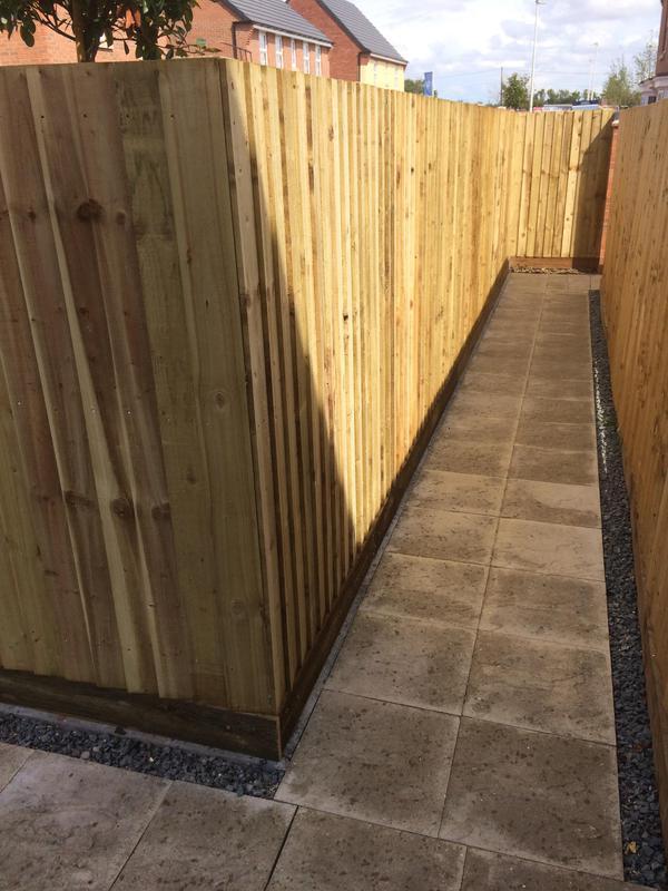 Image 28 - Feather board fence nuneaton
