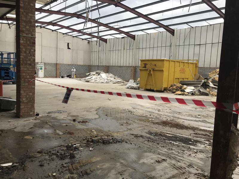 Image 23 - Asbestos removal & Demolition job