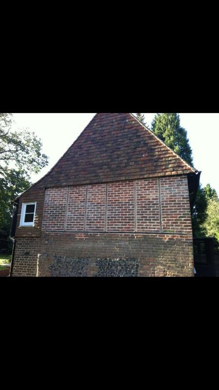 Image 24 - Old bricks removed, repaired and replaced in a old house in Wrotham