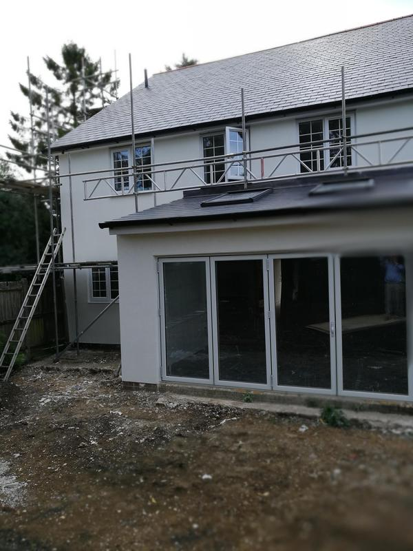 Image 1 - After renovation rendered with Johnstone's Stormshield silicone