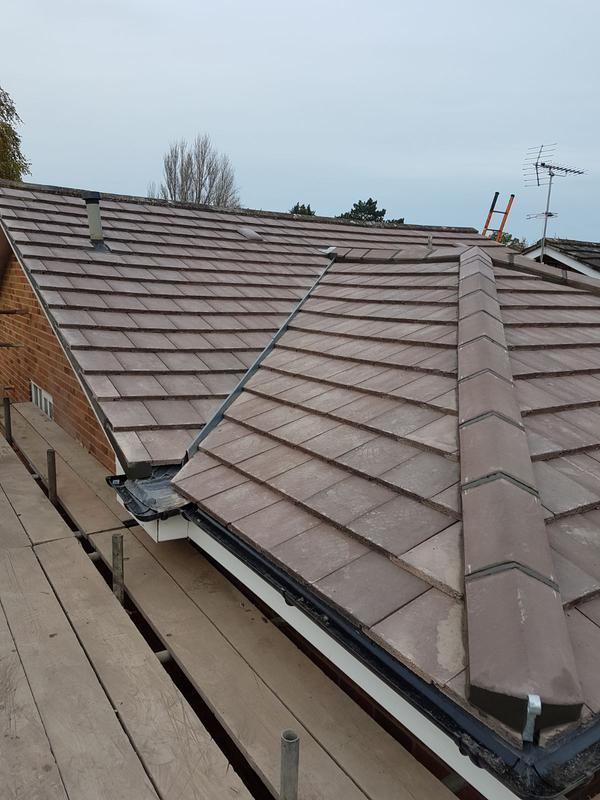 Image 33 - TILED ROOF REPLACEMENT INTERLOCKING TILE SYSTEMS CHOBHAM / VIRGINIA WATER / SUNNINGDALE