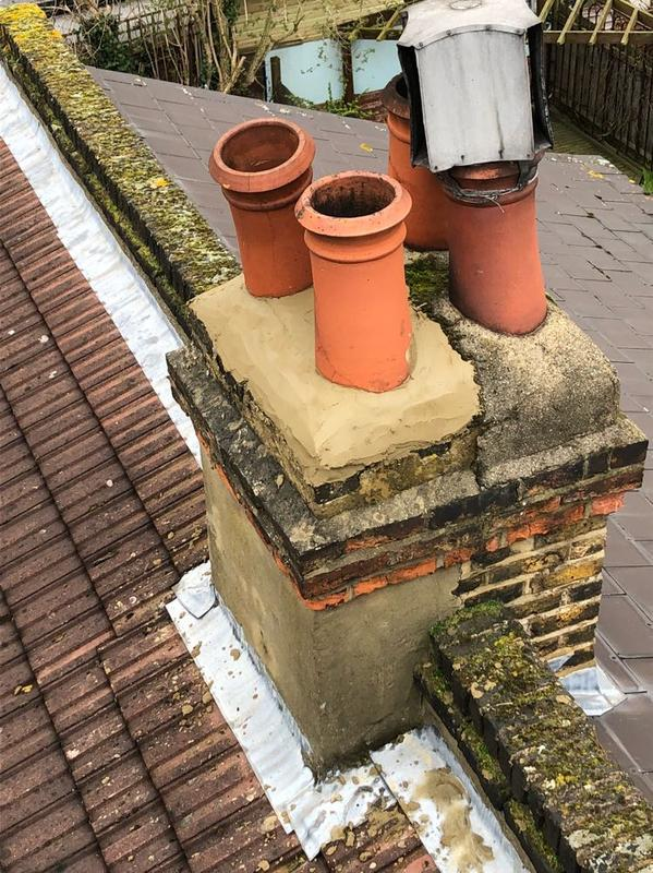 Image 22 - finsihed chimney secure and watertight
