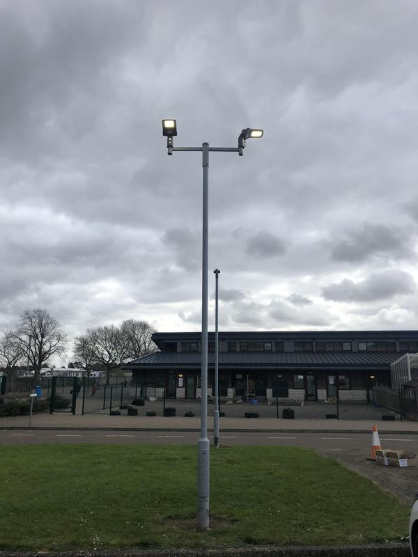 Image 22 - Car Park lighting at a Primary School