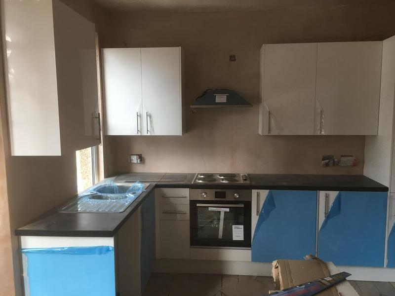 Image 15 - Another view of the finished kitchen.