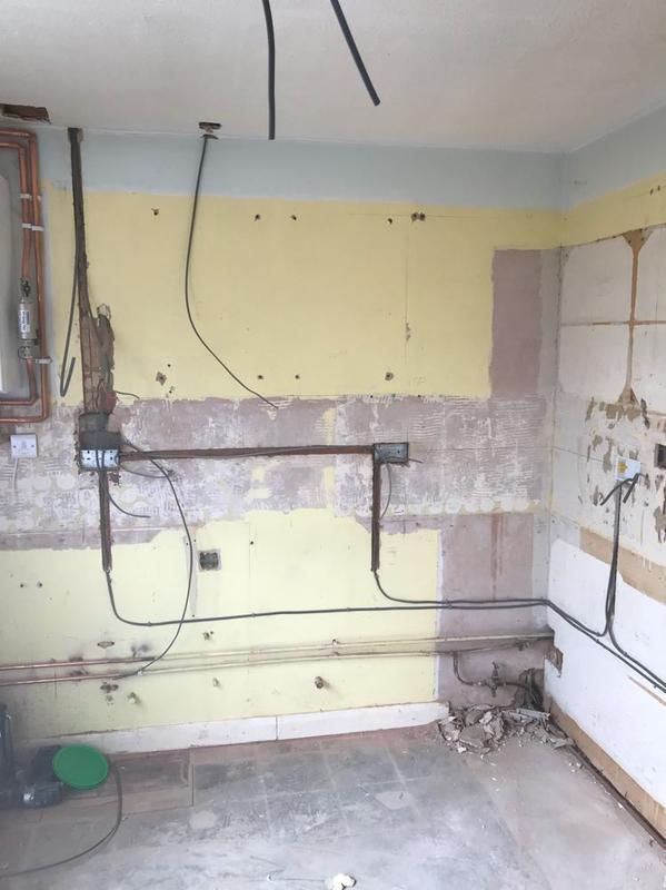 Image 11 - 1st Fix Kitchen