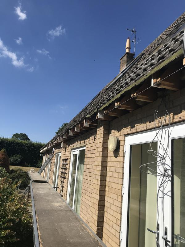 Image 6 - Removal of all old fascias and soffit