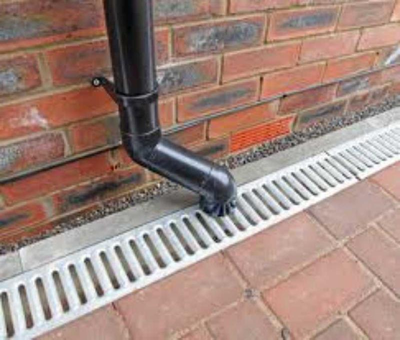 Image 45 - drainage and downpipes and soakaways