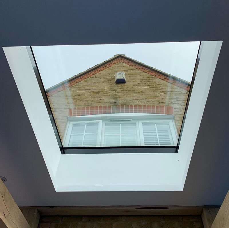 Image 7 - Large roof light completed