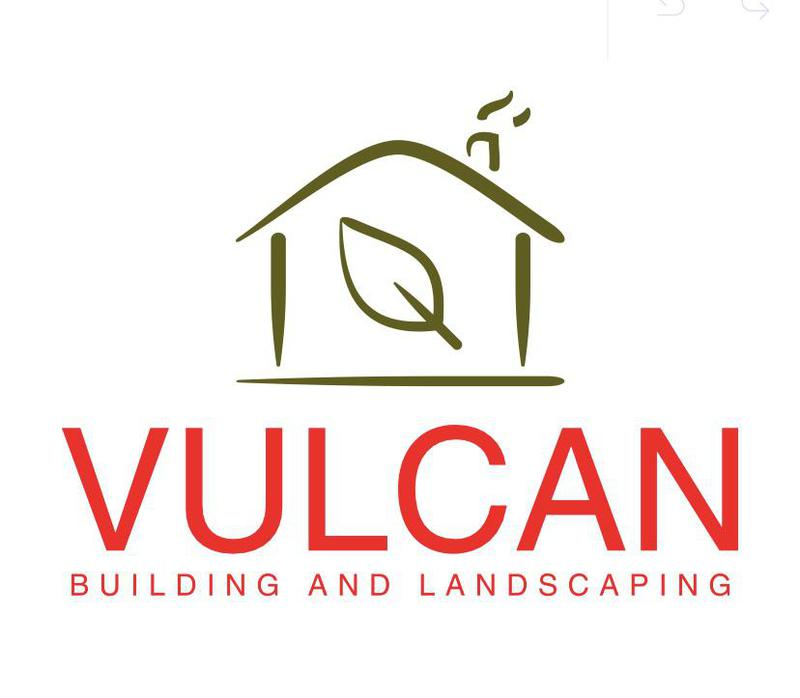 Vulcan Building and Landscaping logo