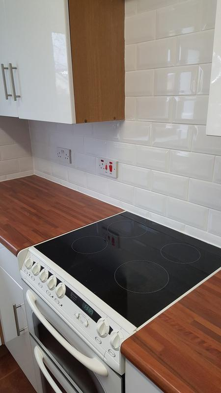 Image 62 - Rental property kitchen tiled