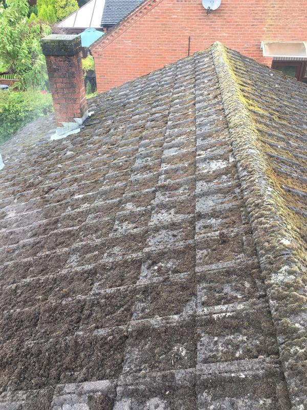 Image 30 - Pressure cleaning roof