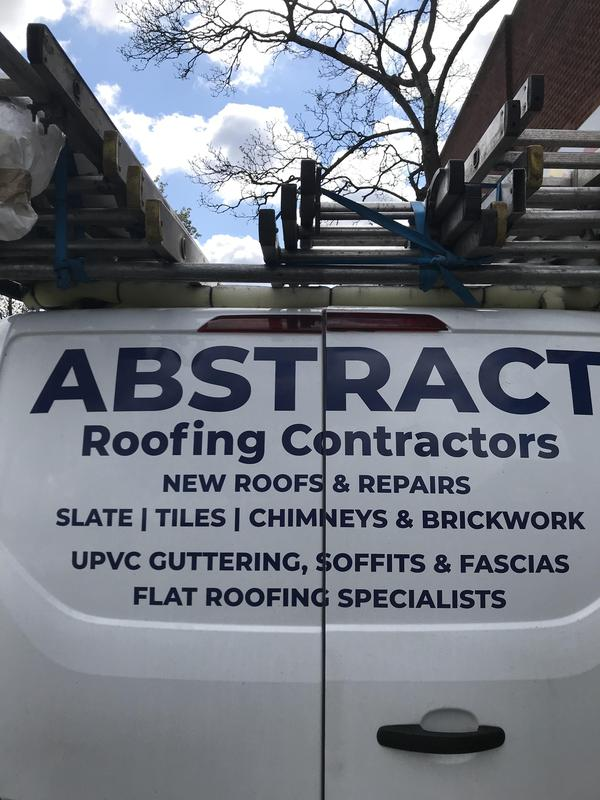 Abstract Roofing Contractors logo
