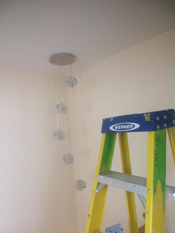 Image 14 - Feature light above stairs (Devizes)