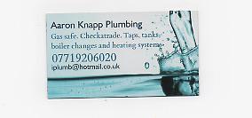Aaron Knapp Plumbing & Heating logo