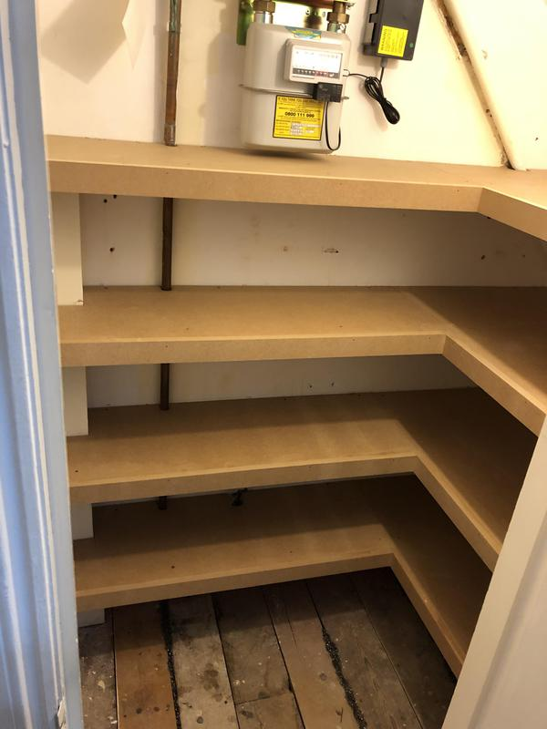 Image 7 - Shelving in pantry room