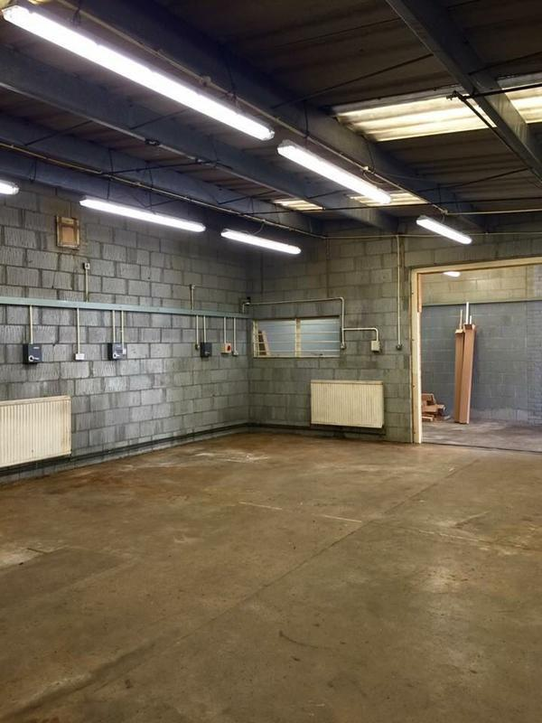 Image 66 - lighting install industrial unit stevenage