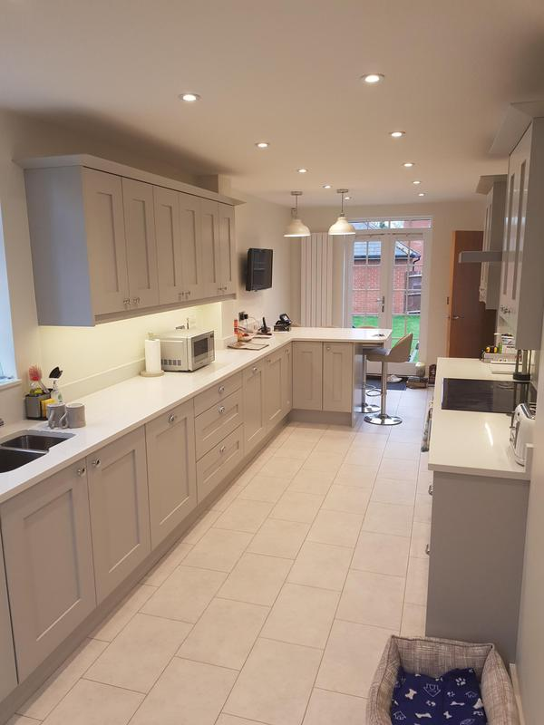 Image 21 - Kitchen we carried out in Witham